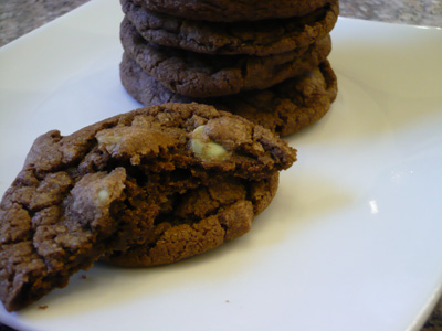 double-chocolate-mint-cookies.jpg. Have you seen the new dark chocolate mint