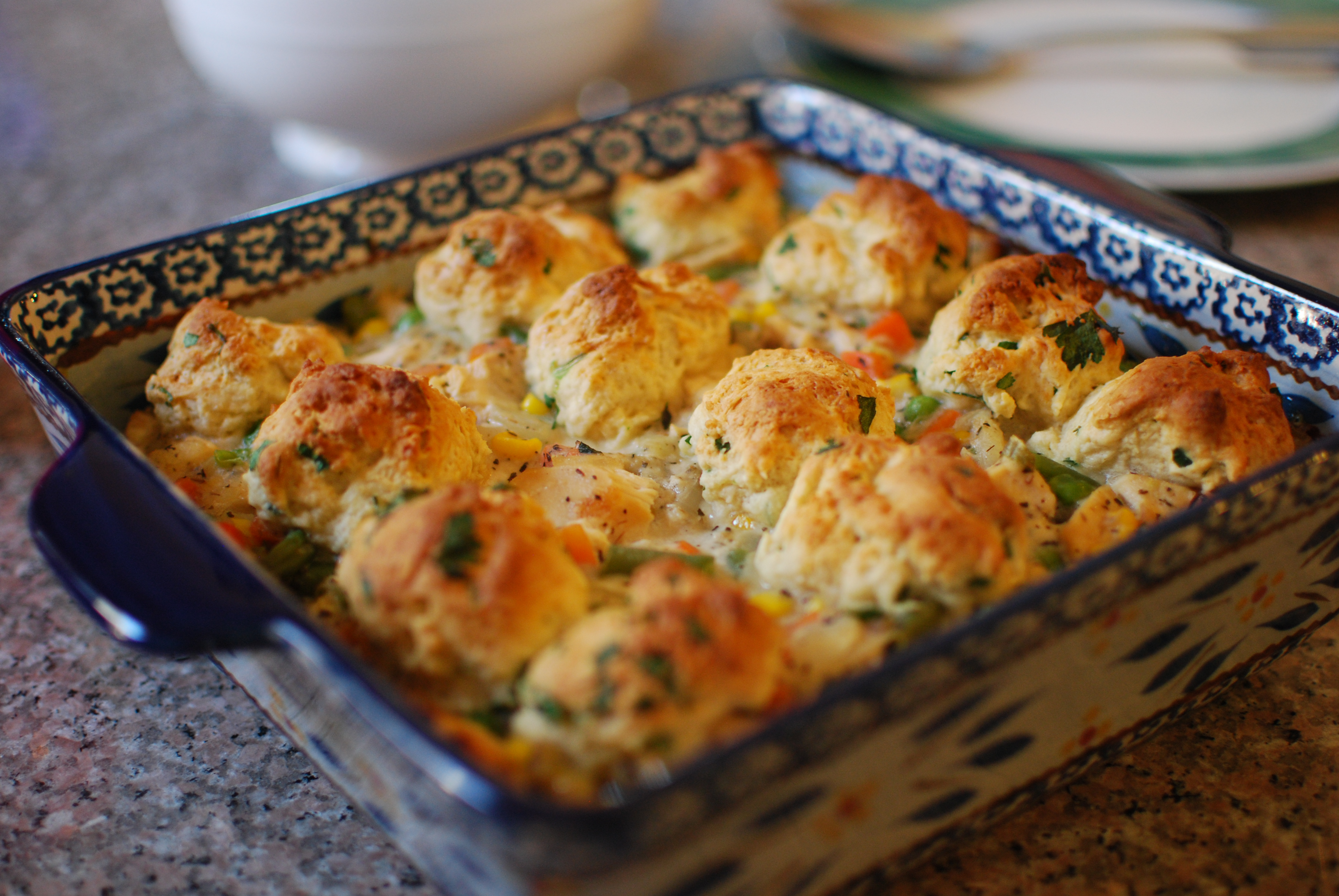 Chicken And Biscuits Casserole The Cookbook Smasher